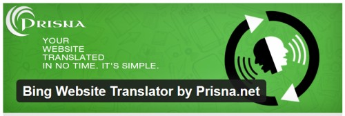 Bing Website Translator by Prisna.net