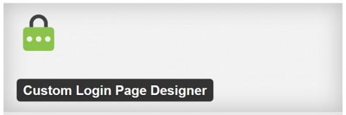 Custom Login Page Designer