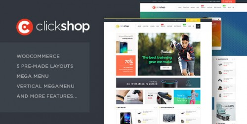 ClickShop - WooCommerce WordPress Theme
