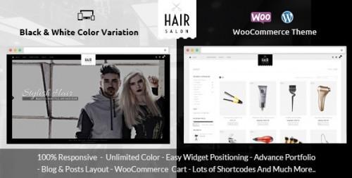 Hair Salon - WooCommerce Responsive Theme