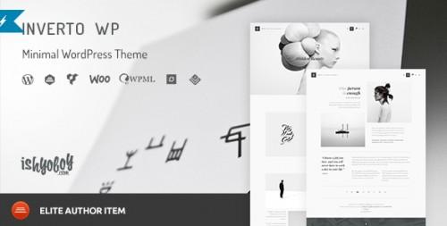 Inverto - Minimal WordPress Theme