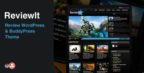 ReviewIt - Review WordPress, BuddyPress Theme