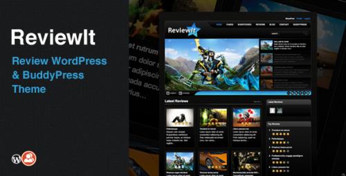 ReviewIt - Review WordPress, BuddyPress Theme
