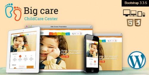 Big Care - Child Care & Shop WordPress Theme