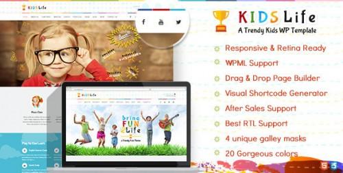 Kids Life - Children WordPress Theme