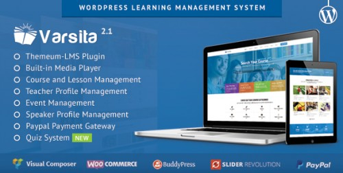 Varsita - WordPress Learning Management System Theme