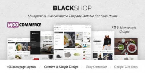 BlackShop - Responsive eCommerce Theme
