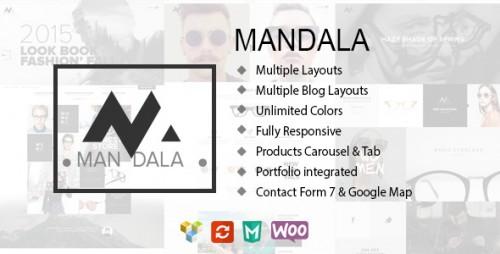 Mandala - Responsive eCommerce WP Theme