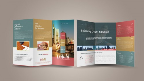 Cool Trifold Brochure Template