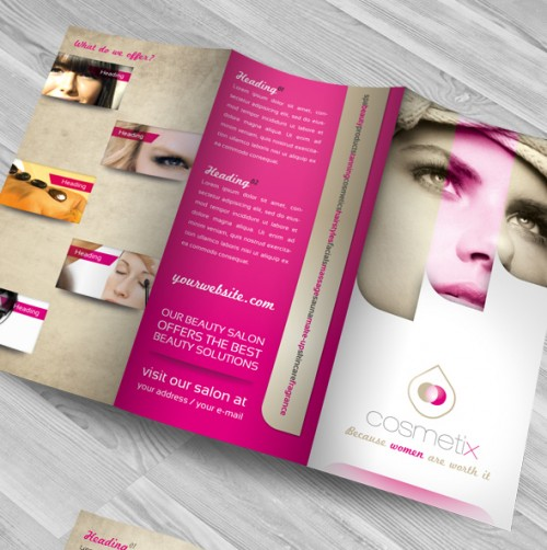 RW Beauty Salon Brochure