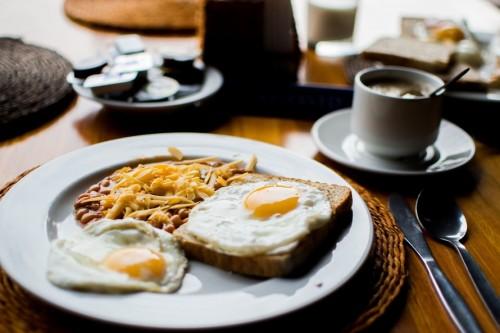 Fried Egg and Bread Pklatter