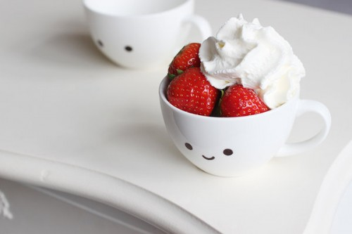 Strawberry with Cream