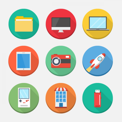 Creative Free Flat Icons
