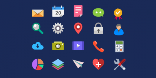 Flat Icons for Free Download