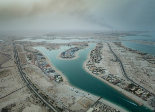Kuwait - Aerial Photography over AlKhairan