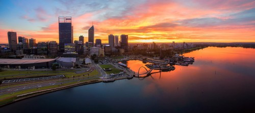 Perth City - Sunrise