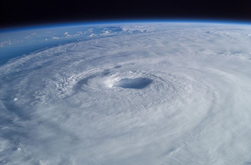 Tropical Cyclone Aerial Pictures