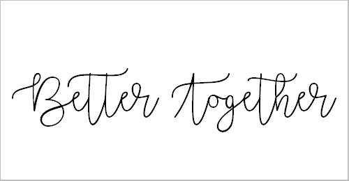 Better Together Demo Font